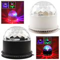 Glam RGB Color Changing LED Crystal Magic Ball Stage Light for Festival Christmas Home Party Disco DJ KTV Club Bar Effect Lamp