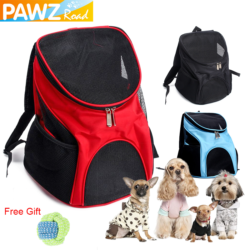 Pet Carrier Bag Oxford Durable Puppy Cat Travel Breathable Double-shoulder Transport Backpack Bag Pet Outdoors Sleeping House