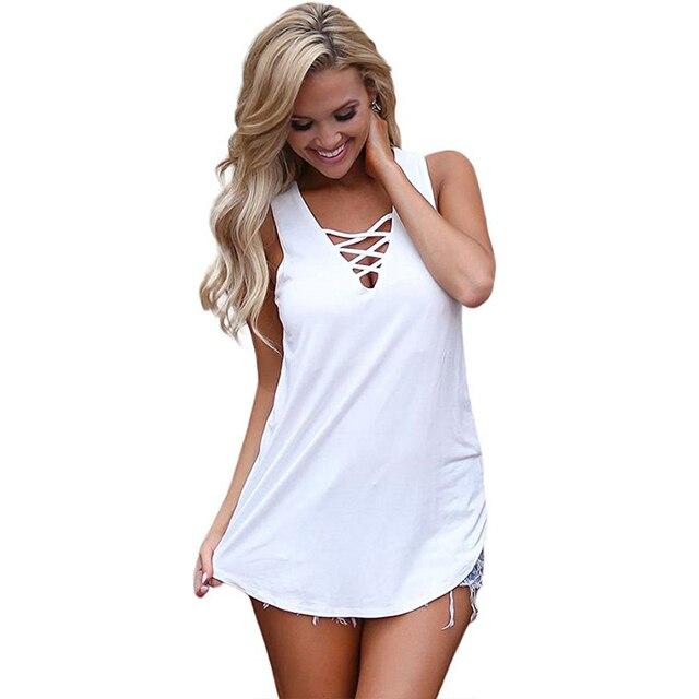#Summer #Women #Blouse #Sexy Deep V-neck Sleeveless #Tops #Shirts #fashion #girl #grl #boygrl 2
