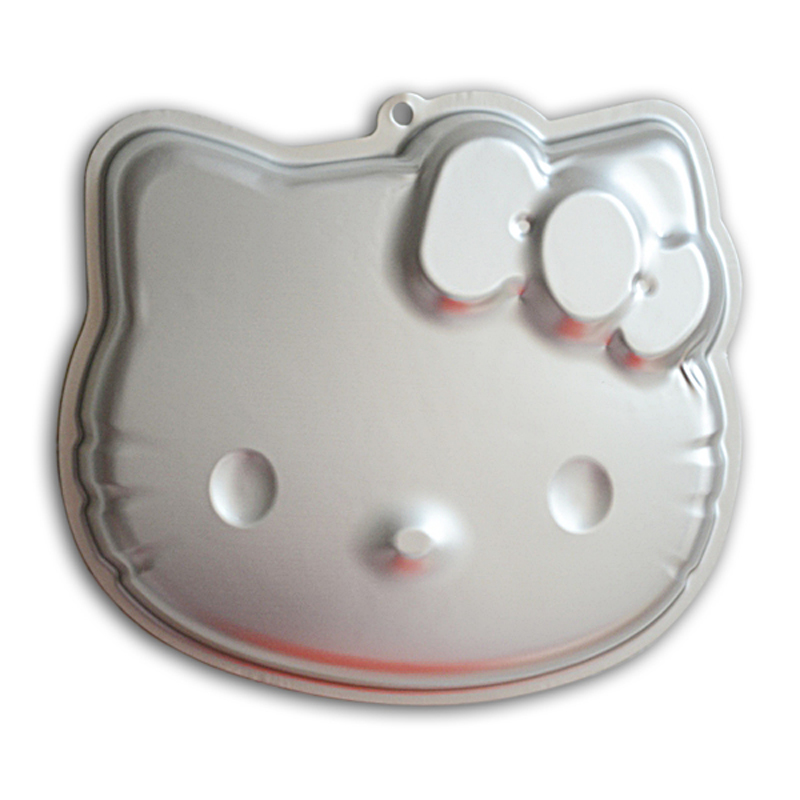 Birthday Party Cake Decoration Hello Kitty Shape Aluminium Cake Tin Pan Baking Accessories