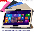 For Lenovo PU protective Leather Case For lenovo MIIX 310-10ICR 10.1-inch Protective Shell/Skin Tablet PC dormancy MIIX 310