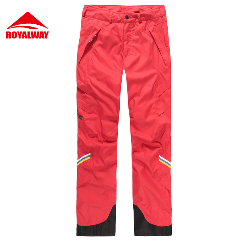ROYALWAY Skiing Ski Pants Men Super Quality Wear Resistant Waterproof Windproof Professi ...