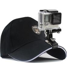 Mini suporte de chapéu para xiaomi yi 4k, montagem de clipe para gopro hero 7/6/2018 session sjcam sj4000, 5/4 eken h9 h9r acessórios para câmera de ação