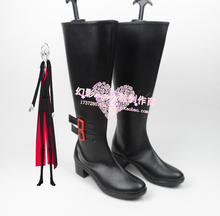 VOCALOID Yan He cosplay Shoes Boots Custom Made 682(China)