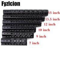 Slim Style Free Float Keymod Handguard Picatinny Rail 7 9 10 12 13 5 15 AR15