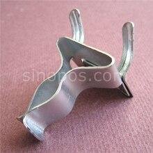 Pegboard Extended Lente Clips, metalen flex peg haken lock stalen wallpeg board schroevendraaier punch tool display houder grid hanger