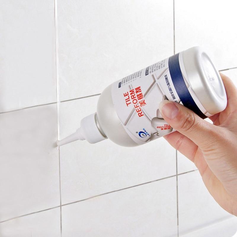 1 botella de 280 ml de agente de rellenado de azulejos baldosas de epoxi sellador a prueba de agua agentes de llenado de porcelana de pared