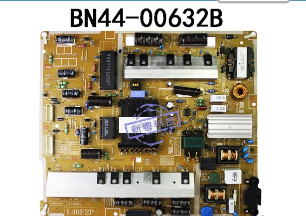 BN44 00632B CONNECT WITH POWER supply logic board for UA46F7500BJ T CON connect board