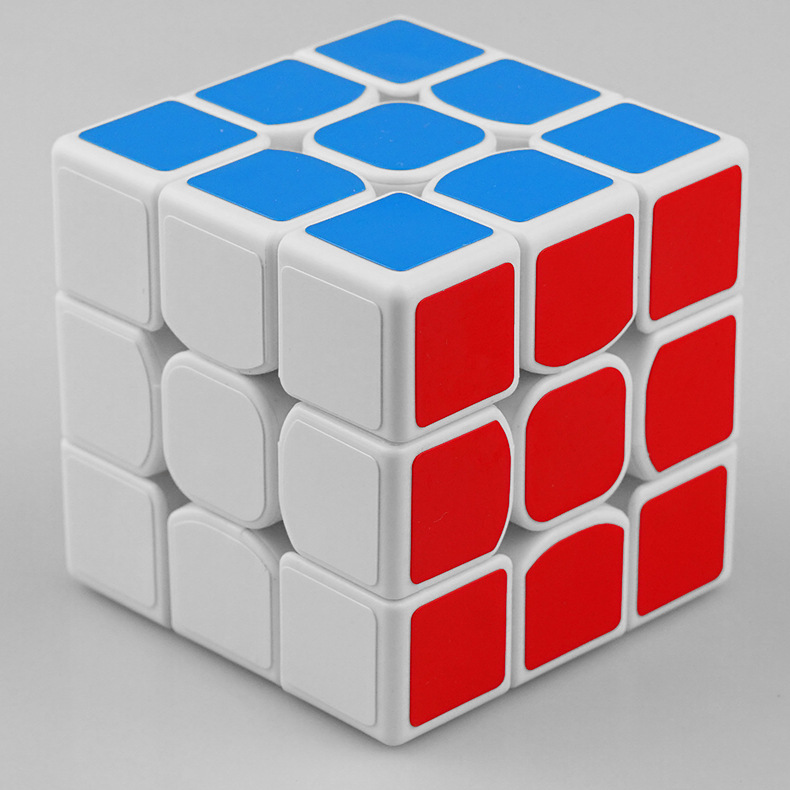 Clasic colorat 3x3x3 Trei straturi Magic Cube Profisional - Jocuri și puzzle-uri - Fotografie 2