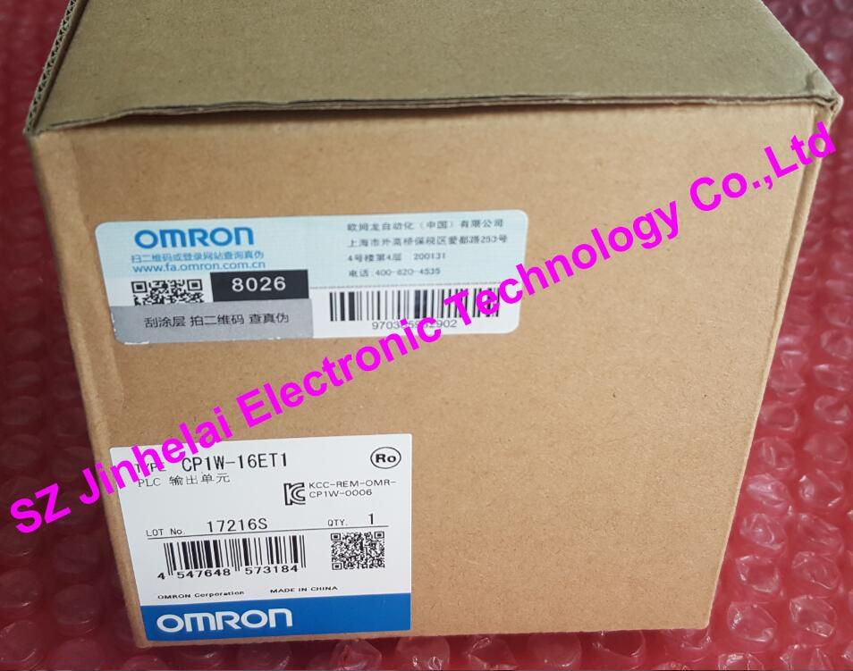 100% New and original CP1W-16ET1 OMRON PLC output unit 100% new and original cj1w nc433 omron position control unit