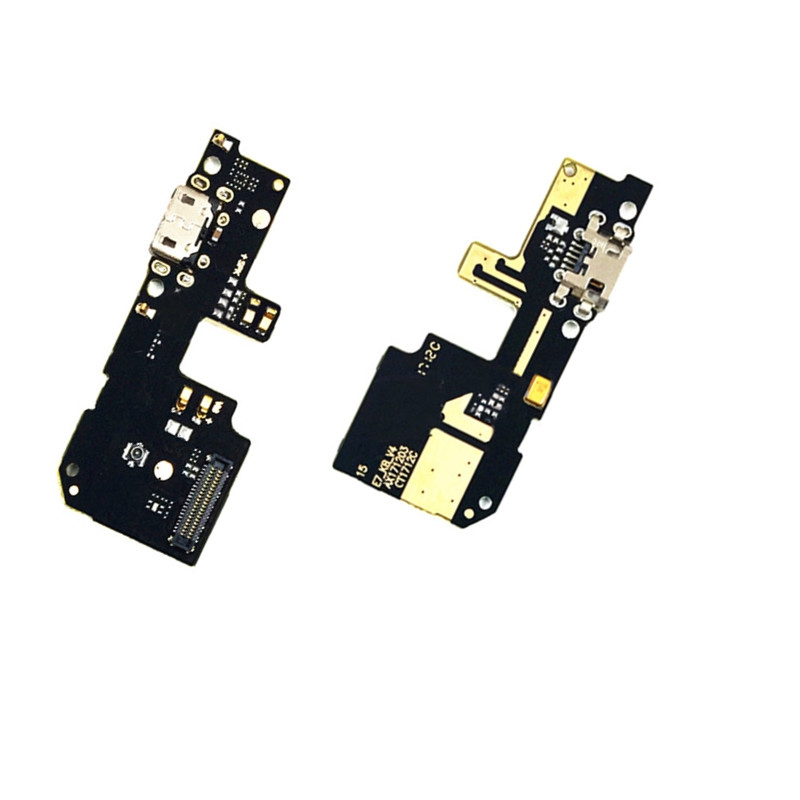 USB Micro Plug Charger Charging Dock Port Flex Cable Replacement For Xiaomi Redmi 5 Plus With Microphone Flex Cable
