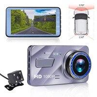 Dual Lens Car Dash Cam FHD 1080P Dashboard Camera 170 degree Vehicle Driving DVR Recorder G Sensor Parking Monitor