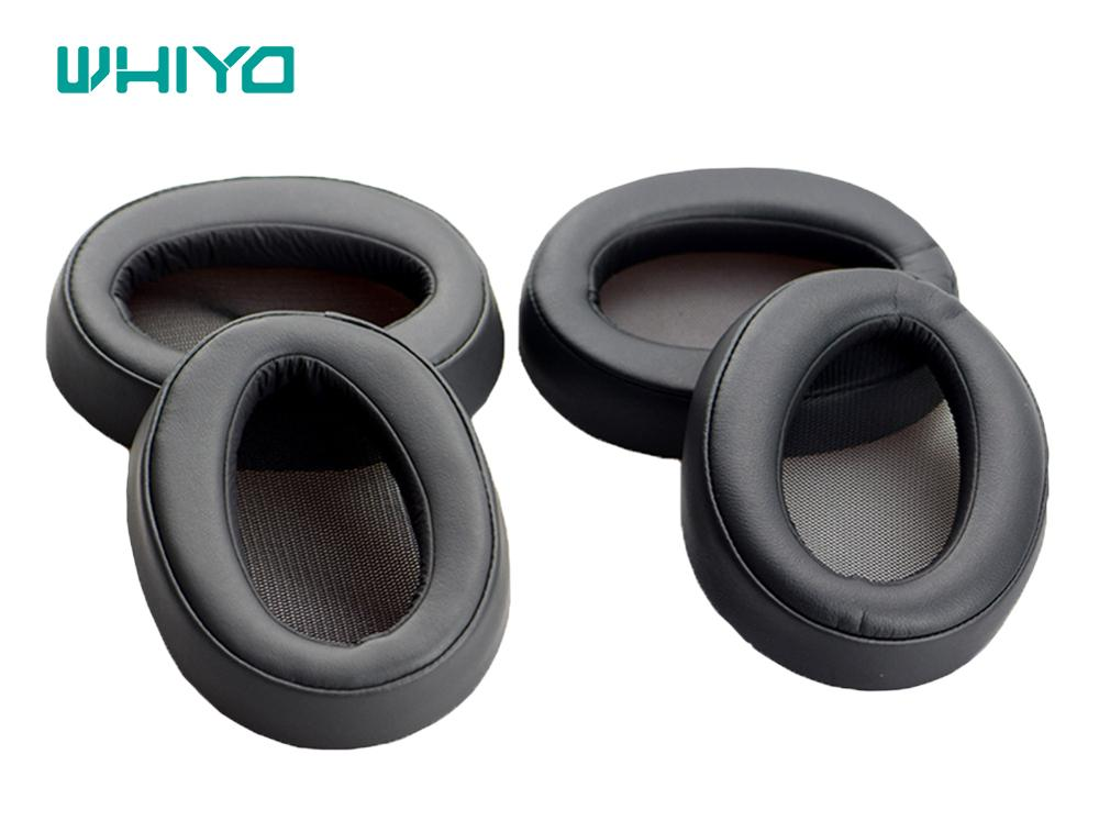 Whiyo 1 Pair of Ear Pads Cushion Cover Earpads Replacement for SONY MDR-H600A MDR-100AAP 100A Headset