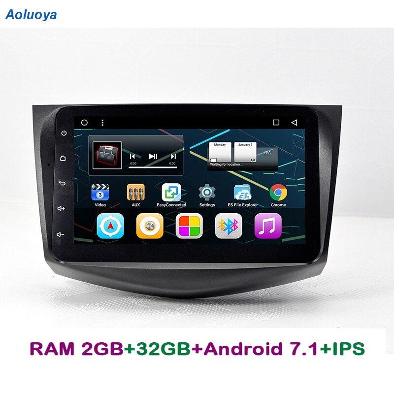 Aoluoya 9 ips 2G Оперативная память 32 ГБ Встроенная память автомобильный dvd плеер на основе Android для Toyota RAV4 RAV 4 2008 2009 2010 2011 2012 автомобиль радио gps нав
