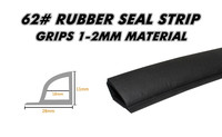 #60 #61 #62 #63 #64 Rubber Edge Trim Seal Vent Seal car styling pillar PVC Van Boat Truck Caravan Door Bonnet Boot 5000cm