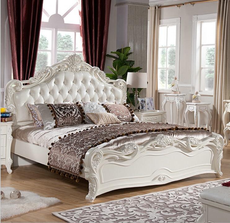 €777.5  Haute qualité lit moderne européen français sculpté chambre meubles  1.8 m 7971-in Lits from Meubles on AliExpress - 11.11_Double 11_Singles\' ...