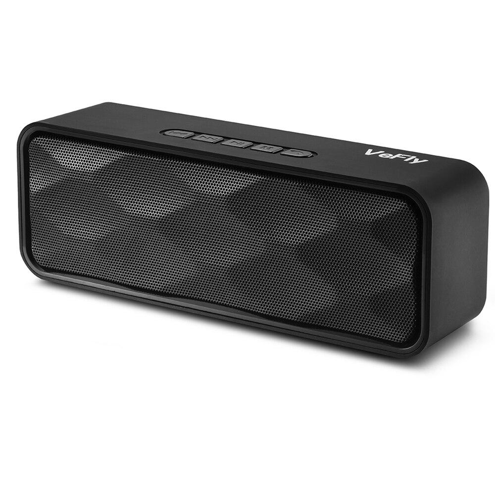 VeFly Bluetooth Speaker Portable Speakers Computer Portable Fm Radio Soundbar Wireless Speaker