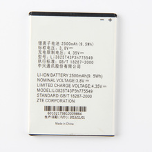 Origina High Capacity Li3825T43p3h775549 battery For ZTE GRAND X QUAD V987 U935 V967 N9810 N9101 2500mAh
