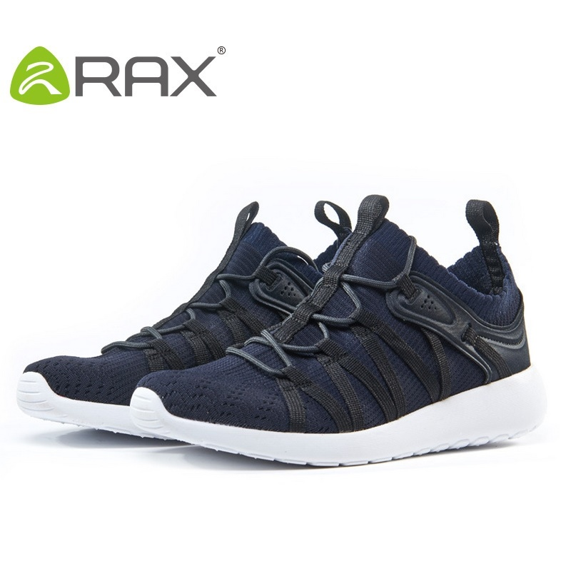Rax Running Shoes Men Light Weight Mesh Breathable Mens Sports Shoes Running Lace Up Jogging Outdoor Trainers B2813W point break children weight running shoes men breathable mesh jogging shoes tide travel shoes
