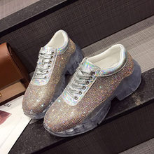 e424f36e61 Buy transparent flats with crystals and get free shipping on ...
