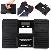 New Digital Body Bathroom Weight Scale Personal LCD Health Fitness 150kg Black
