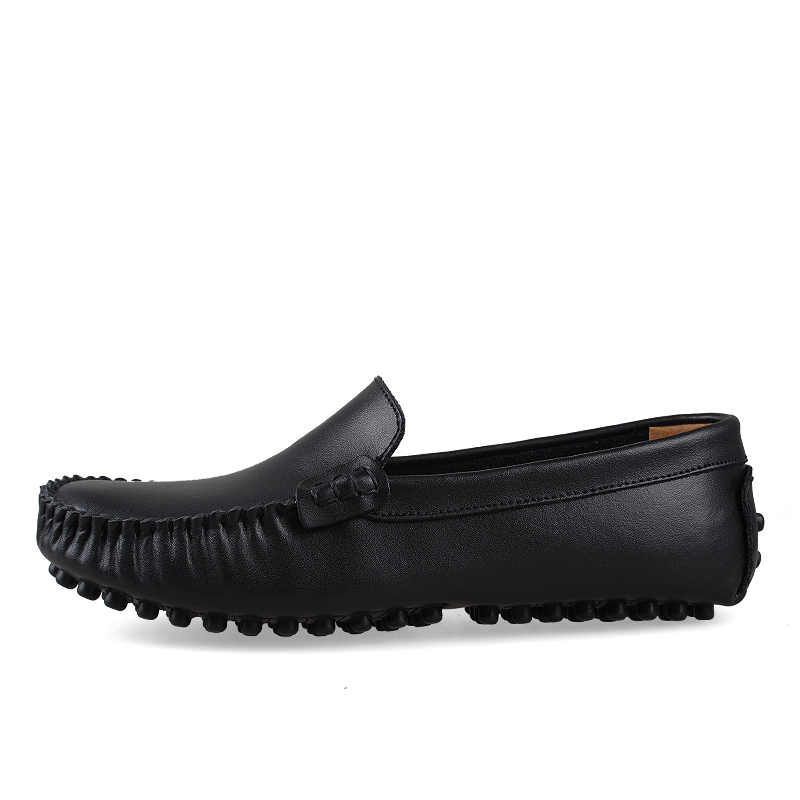 Size 38-47 Slip On Casual Men Loafers Spring Or Winter Mens Moccasins Shoes Genuine Leather Men'S Flats Shoes D30 pl us size 38 47 handmade genuine leather mens shoes casual men loafers fashion breathable driving shoes slip on moccasins