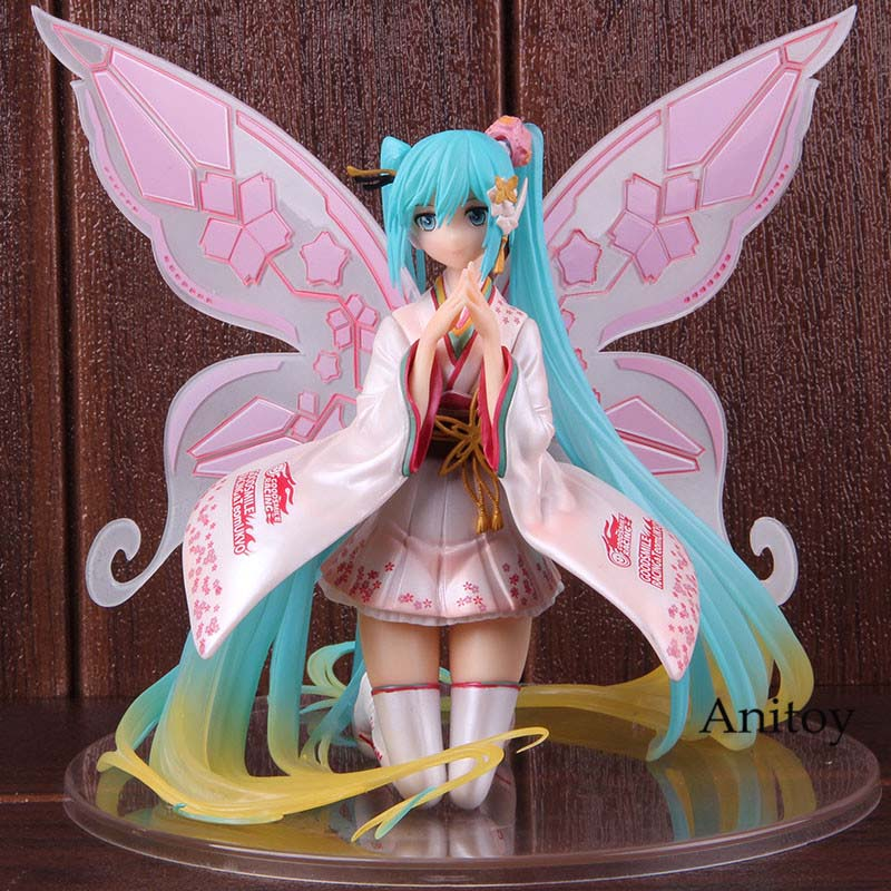 Hatsune Miku Spring Clothes ver New No Box 17cm Christmas gift