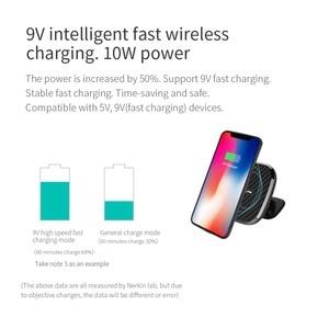 Image 5 - Nillkin cargador inalámbrico magnético para coche, Cargador rápido Qi de 10W para iPhone 11 Pro X XR XS Max, Samsung Note 8 9 10 S9 S10 S20 Plus