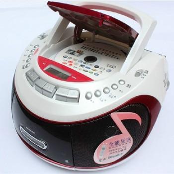 Registratore A Cassette   Audio Lettore Dvd Portatile Lettore CD USB SD Radio Registratore A Cassette A Nastro Macchina Prenatale Electronic Article MP3 Player Altoparlante