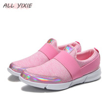 ALL YIXIE 2019 Fashion Breathable Vulcanized Ladies Sneakers Soft Bottom Casual Shoes Womens Mesh Running Student