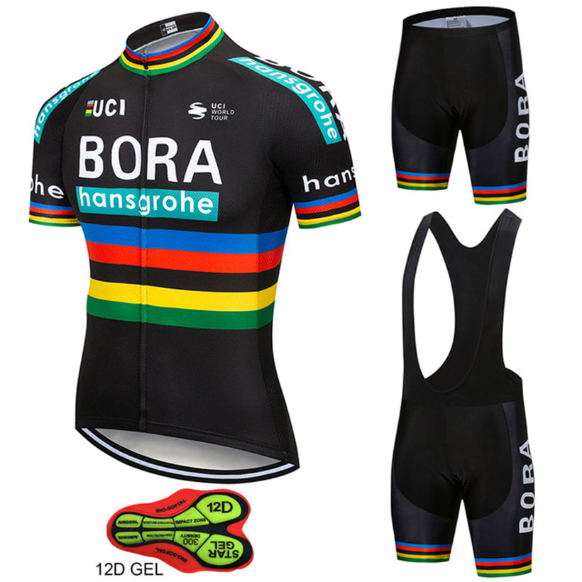 38345ab28 Товар 2018 Team Pro BORA Cycling Jersey Reflective Maillot Ropa ...
