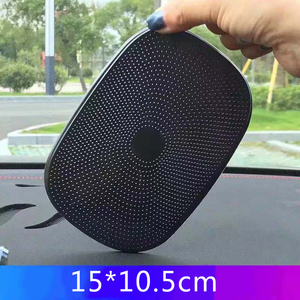 Image 3 - רכב אנטי להחליק מחצלת טלפון מחזיק PU פנים לוח מחוונים כרית החלקה GPS טלפון סלולרי מטבע 15*10.5cm