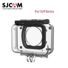 Original sjcam sj9 série 30 m subaquática habitação caso à prova dunderwater água para sj9 greve sj9 max ação esporte câmera sjcam acessórios