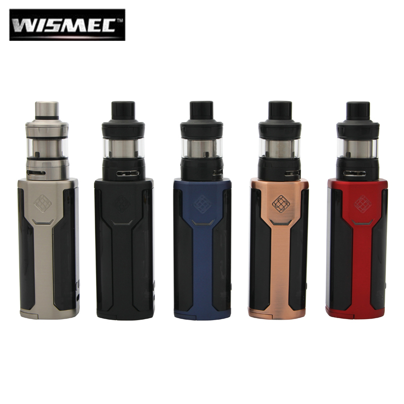 Original Wismec Sinuous P80 with Elabo Mini Kit Sinuous P80 Vape Box MOD 80W with 2ML Atomizer Electronic Cigarette автомагнитола swat mex 1006uba