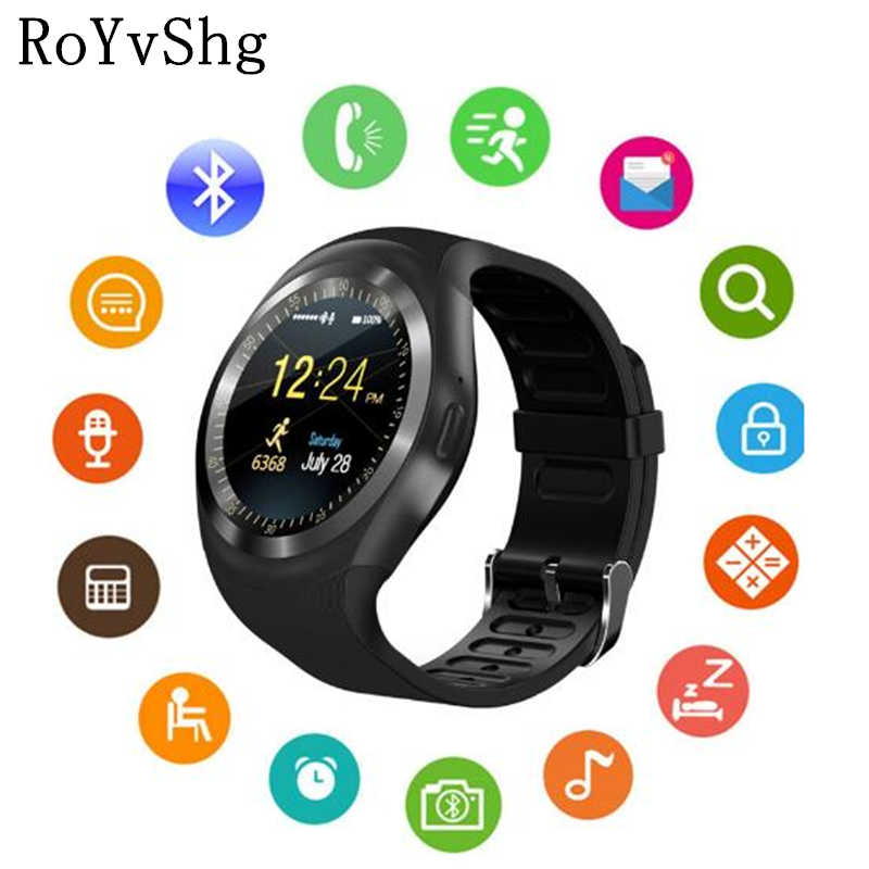 Y1 Smart Watch Support Nano SIM Card and TF Card Smartwatch