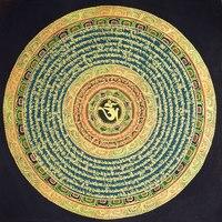Chinese style Tibetan hand painted Tangka decorative painting Tangka/Nepal mandala/Corridor painting