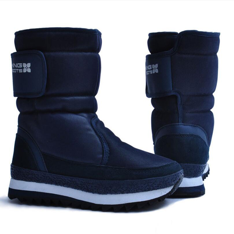 Women snow boots warm winter shoes women platform boots non-slip waterproof botas de mujer цена