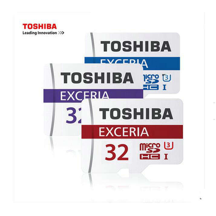 Orijinal TOSHIBA 32 GB Hafıza kartı MicroSD SDHC Class 10 Micro SD Tf telefonları tablet Için navigator DVR + adaptörü + perakende paketi