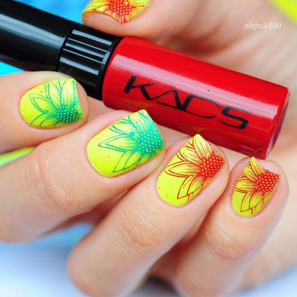 KADS Stamping nail lacquer 6 Bottles/LOT Regular Nail Polish&stamp nail polish nail art pen Optional More engaging 4 Seasons