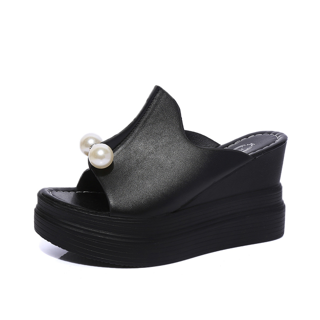 4e7a70750944 Designer Women Summer Sandals Thick Heel Platform Wedges Sandals ...