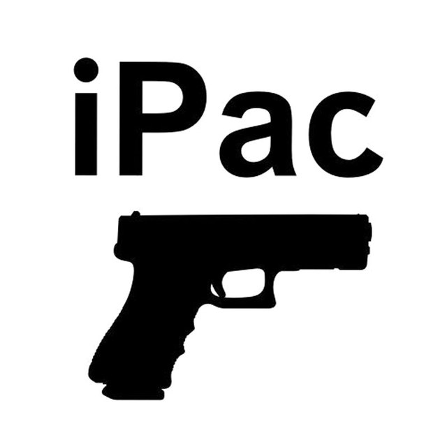 12 7cm 14 2cm Ipac Conceal Carry Pistol Warning Decal Hand
