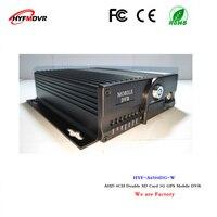 4CH Автомобильный видеорегистратор 3 г GPS удаленного мониторинга высокой четкости Автомобиль VCR поддержка 720 P/1080 P/960 P