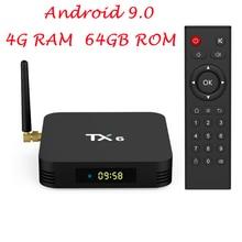 TX6 Smart TV BOX Android 9.0 Allwinner H6 Quad core USB 3.0