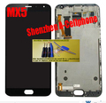 White / black LCD Display + Digitizer Touch Screen for Meizu MX5 MX 5 Assembly Complete parts glass with frame flex cable