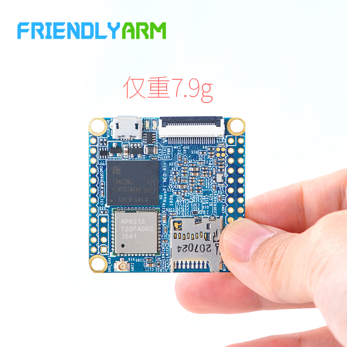 Friendly Arm NanoPi NEO Air Board with Bluetooth WIFI H3 Development Board IoT Super Raspberry Pie fast free ship for stm32 bc95 module bc95nb iot development nbiot development board iot development board