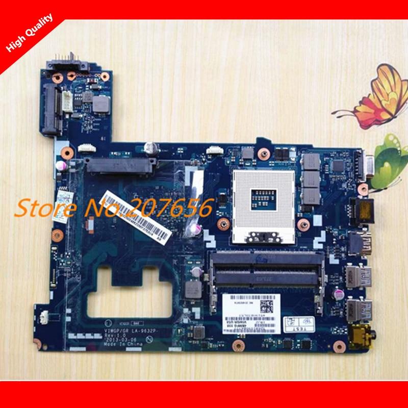 LA-9632P VIWGP/GR Rev 1.0 Motherboard Fit For Lenovo motherboard G500 Notebook PC mainboard Tested 100%