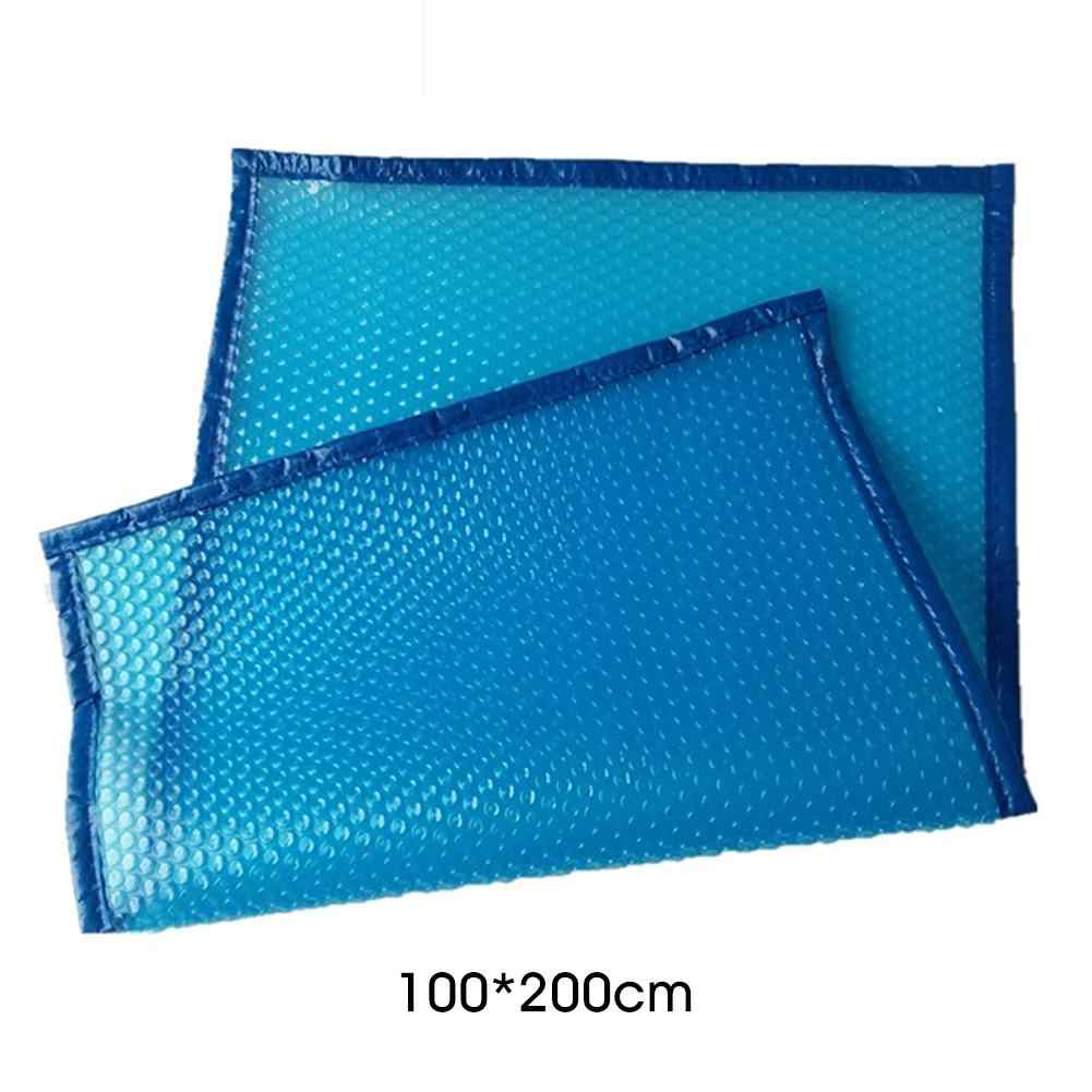 New Swimming Pool Cover Rainproof Strong And Durable UV-resistant Swimming  Pool Cover For All Types Of Square Swimming Pools 4