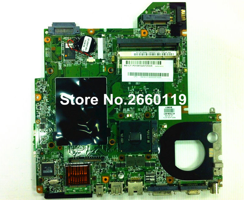 ФОТО laptop motherboard for HP dv2000 dv3000 417036-001 system mainboard fully tested and working well with cheap shipping