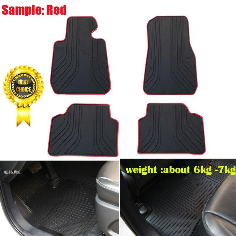 Tapis de sol en caoutchouc anti-dérapant personnalisé tapis de sol en caoutchouc imperméable à l'eau tapis de sol pour Cadillac ATS Excalade SRX XTS