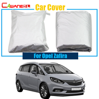 Cawanerl Outdoor Car Cover Snow Rain Sun Resistant Protector Cover Anti UV Dustproof For Opel Zafira